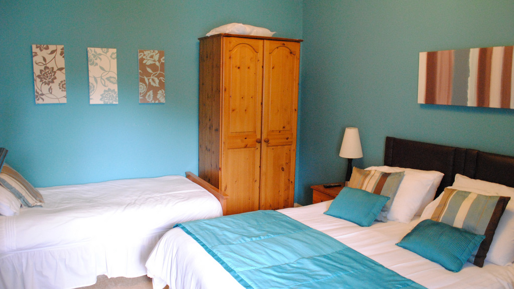 Double bedroom at Invernente B&B, Callander