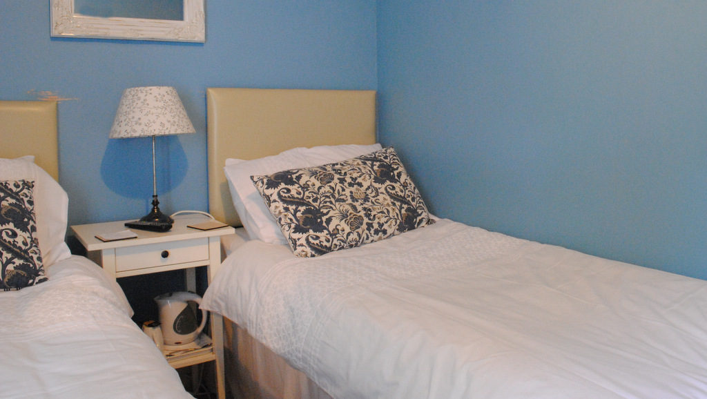 Twin bedroom at Invernente B&B, Callander, Scotland