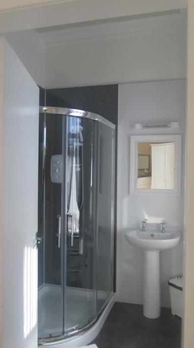 Modern bathrooms at Glengarry Guest House, Callander, Perthshire