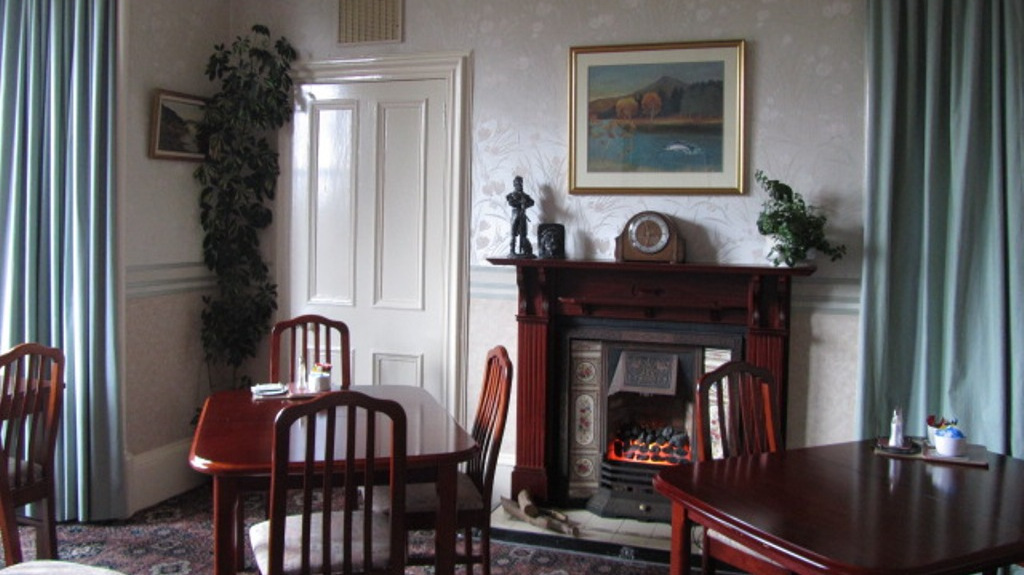 The lounge at Glengarry Guest House in Callander, the gateway to the HIghlands