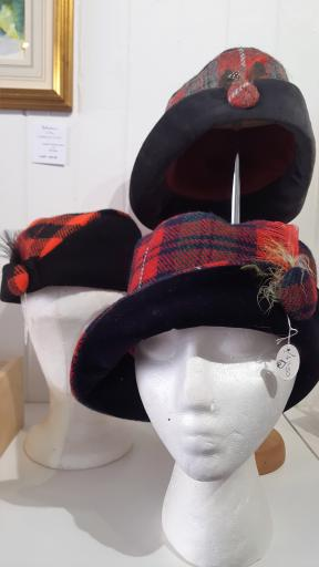 Hats off to Scotland in Callander, Perthshire