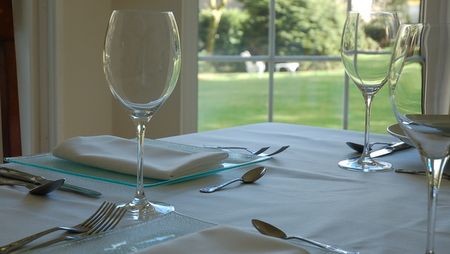 Dining at Lubnaig Guest House, Callander