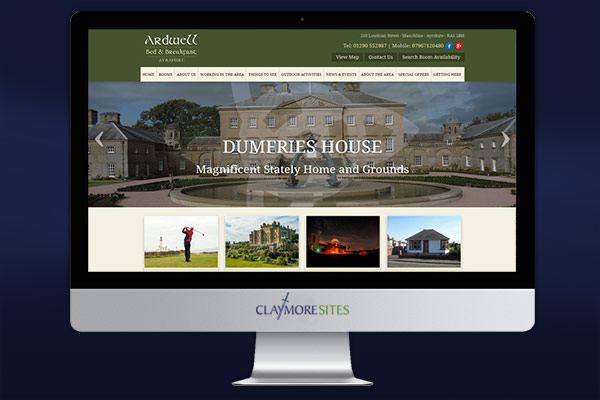 Website design for Guest Houses | B&B Web Development