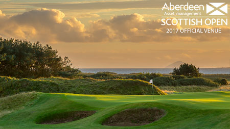 Dundonald Links to host the Scottish Open in July 2017