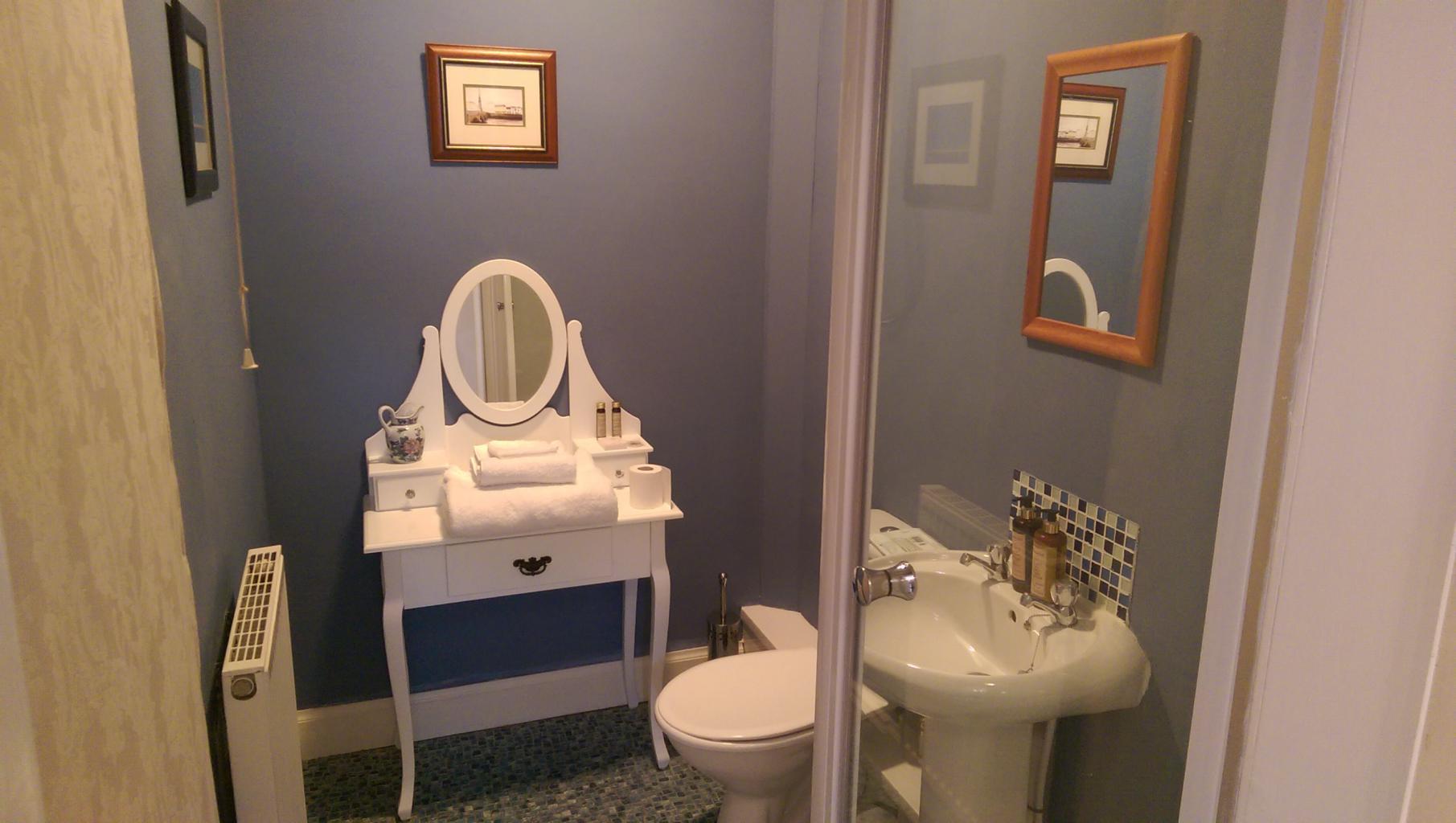 En suite Shower room to the Hunter Room