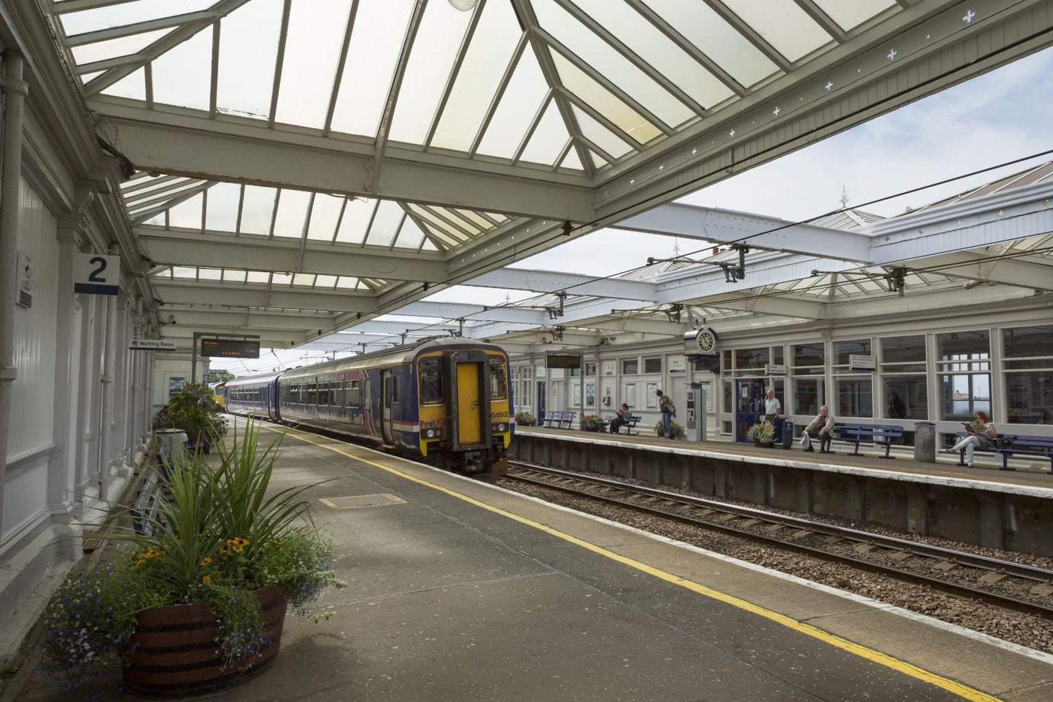 Troon Train Station