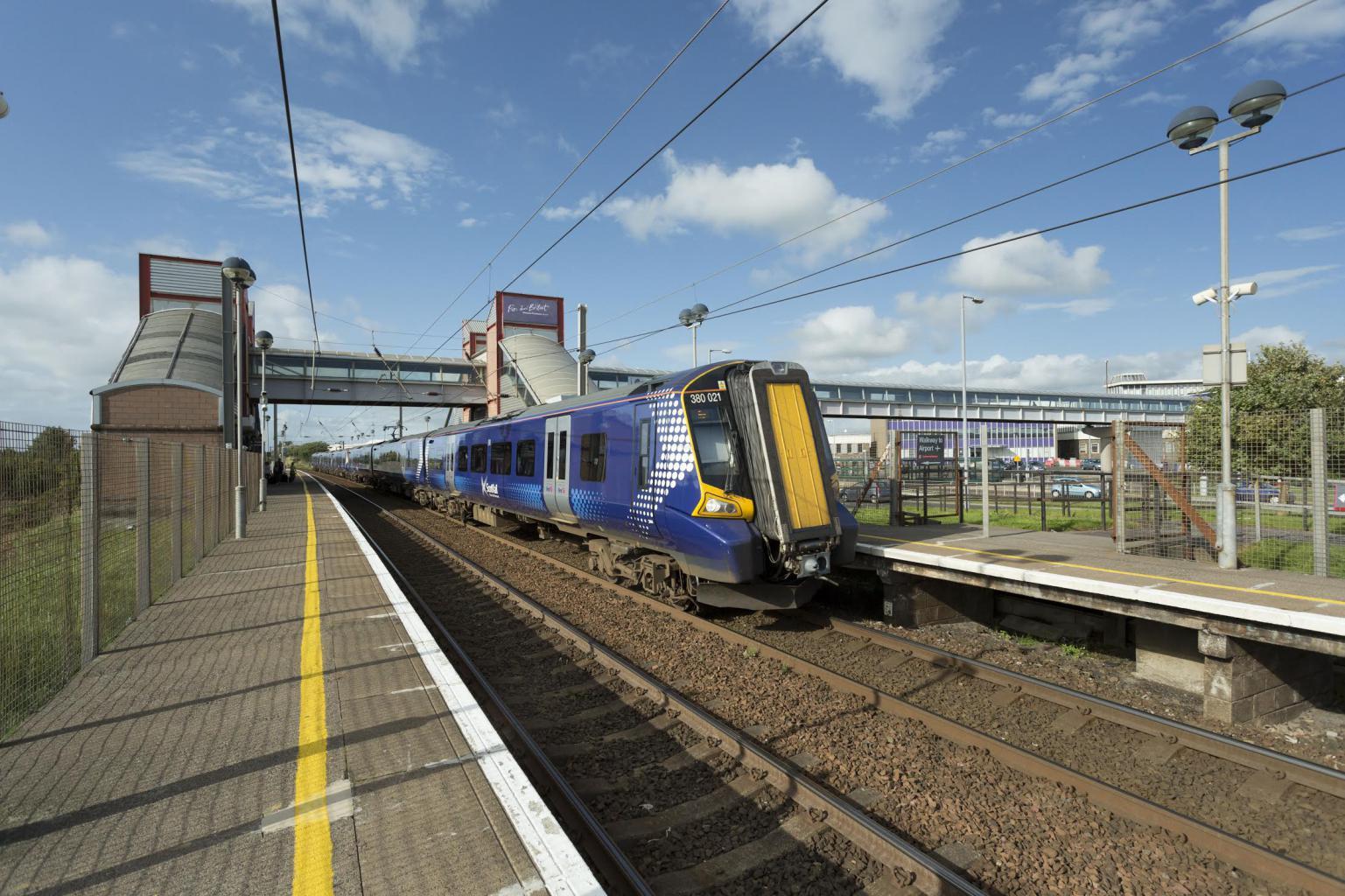 Glasgow Prestwick Train station