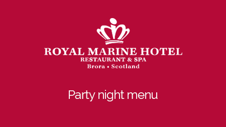 For a great festive celebration at the Marine, this brochure contains all the information you need