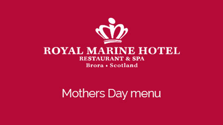 Enjoy a 2 or 3 course meal on Mothering Sunday with us