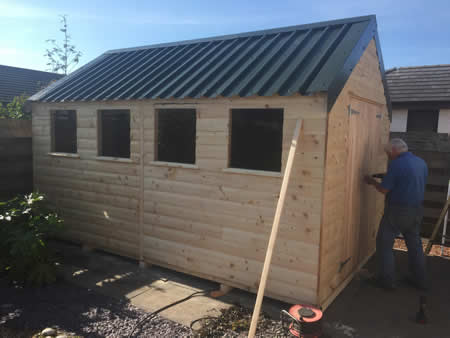 Handmade to order sheds and garages