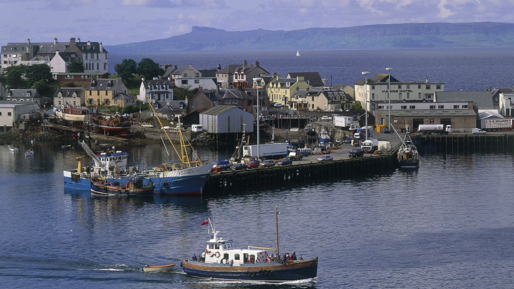 Isle of Mull B&B accommodation, cottages, transport