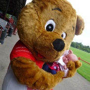 Billy Bught - Inverness Shinty Club mascot