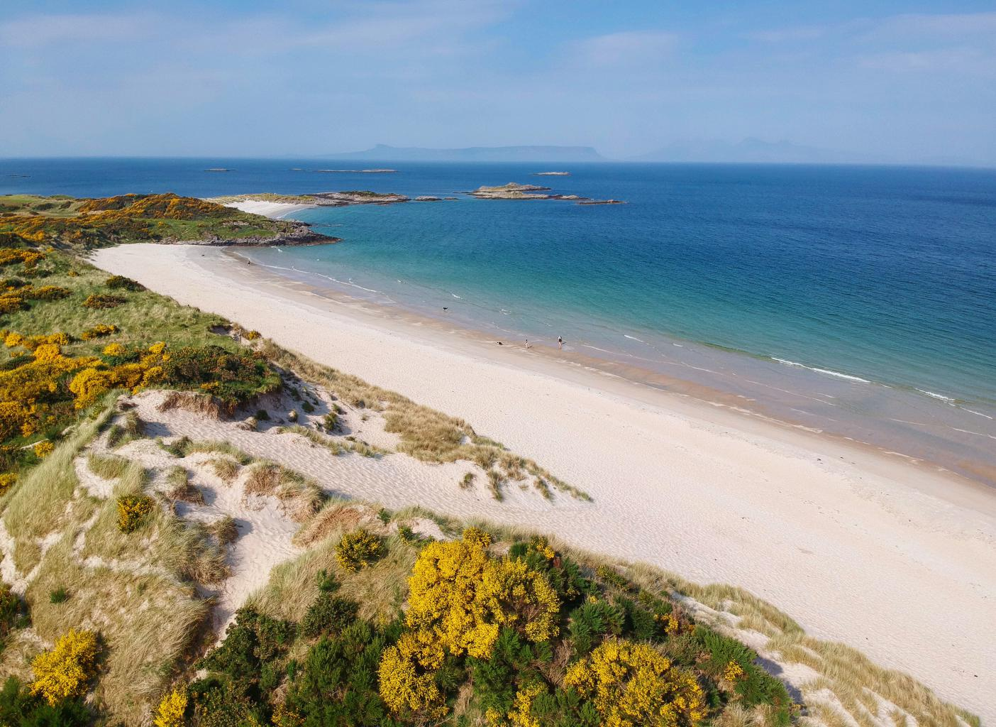 EXPLORE THE AREA'S UNSPOILT BEACHES