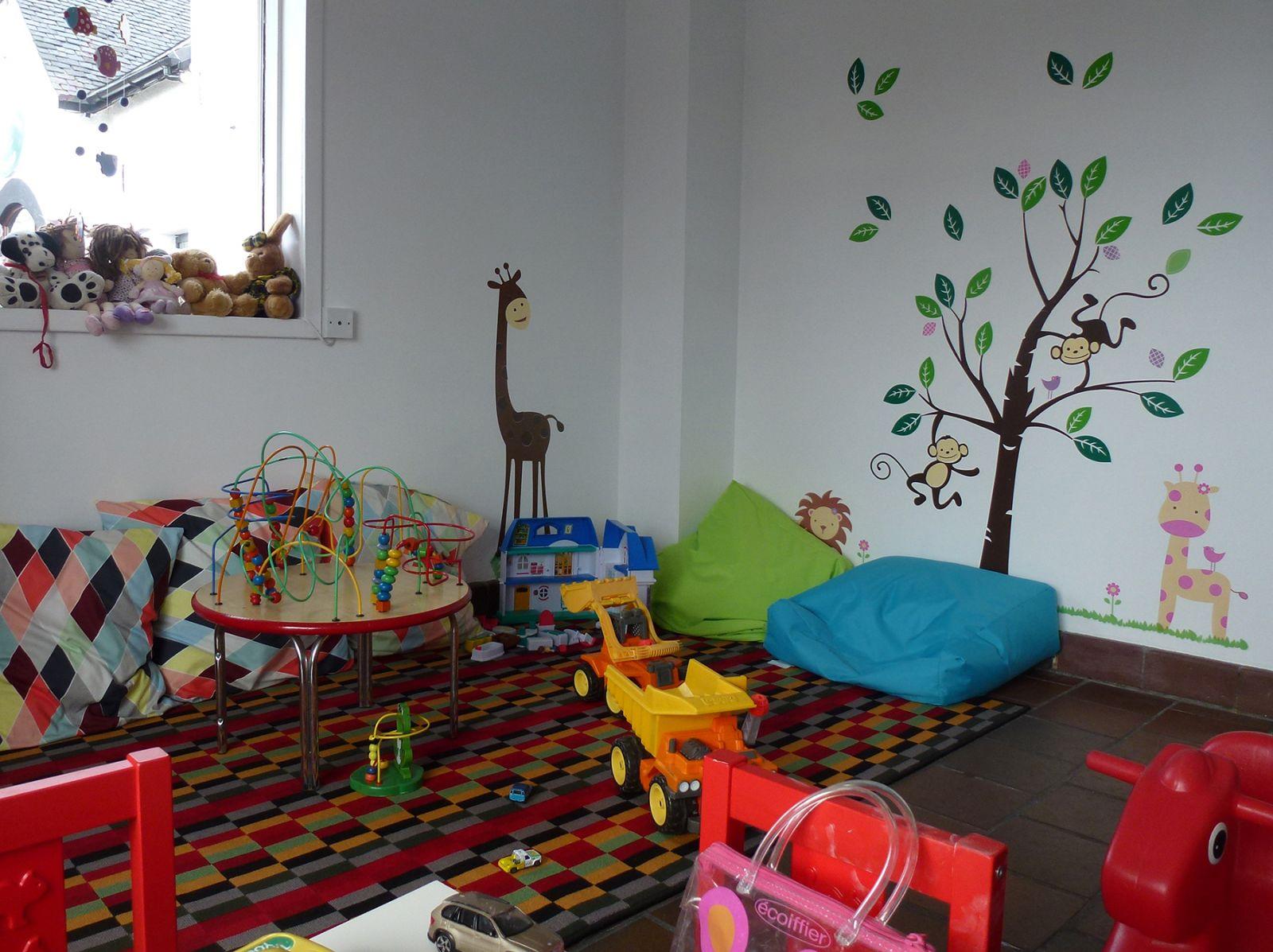 Playroom at Arisaig Hotel